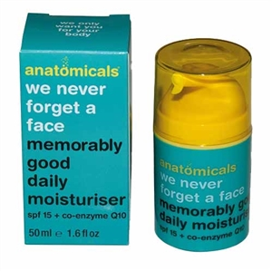 Anatomicals Spf 15 Daily Moisturiser 50ml