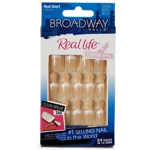 Broadway Real Lıfe French Naıl Kıt Sensıble