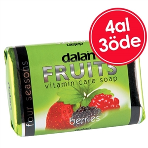 Dalan Fruits Böğürtlen Sabun 4 Al 3 Öde