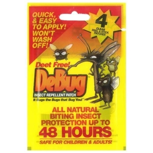 Debug Insect Repellent Patch 4 Paket