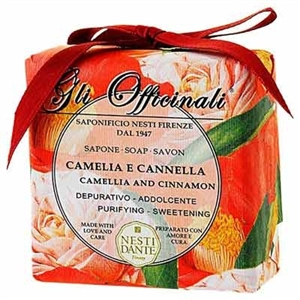 Nesti Dante Gli Camellia and Cinnamon Soap 200gr