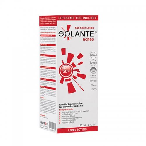 Solante Acnes Sun Care Lotion SPF 50+ 150 ml