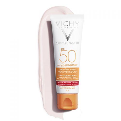 Vichy Capital Soleil SPF 50 Anti Age Güneş Kremi 50 ml