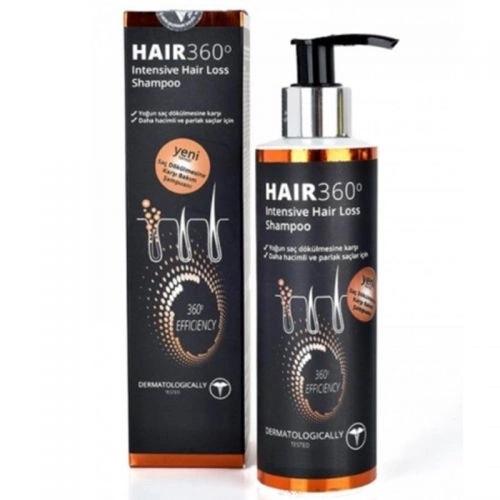 Hair 360 Intensive Saç Dökülmesine Karşı Şampuan