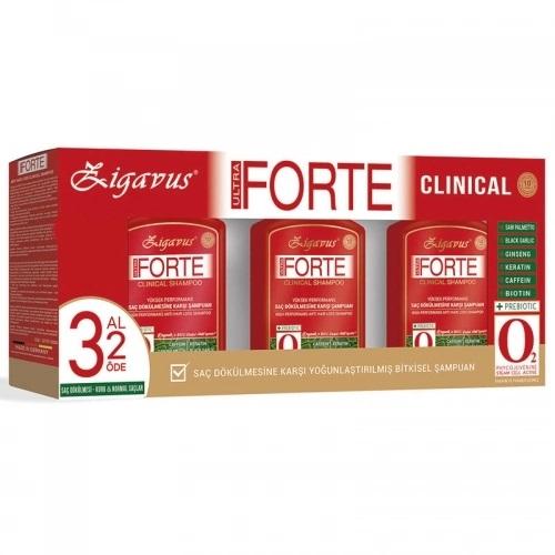 Zigavus Forte Ultra Clinical Saç Dökülmesine Karşı Bakım Şampuanı