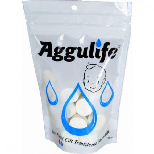 Aggulife - Aggulife Cilt Temizleme Mendili 36 Adet