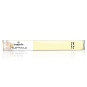 Alessandro Nail Spa Manicure Quick Shine Polish File