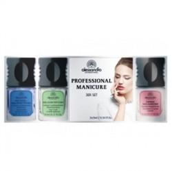 Alessandro Ürünleri - Alessandro Professional Manicure Seti 3x5mL