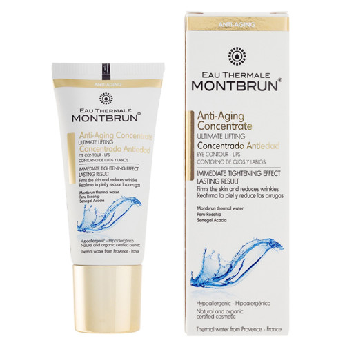 Eau Thermale Montbrun - Eau Thermale Montbrun Anti-Aging Concentrate Eye Contour-Lips 20ml