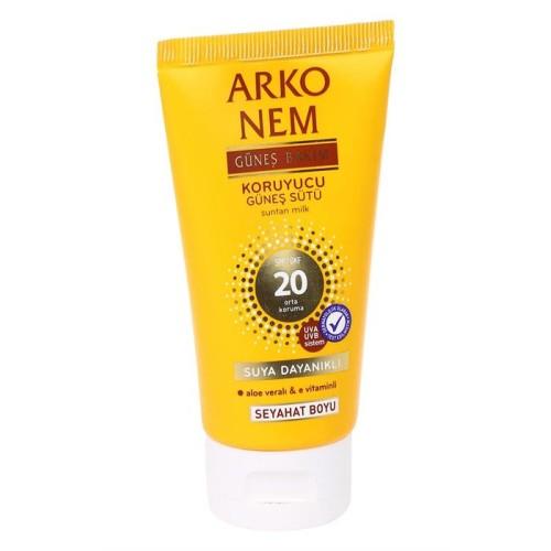 Arko Nem - Arko Nem Koruyucu Güneş Sütü SPF20 75 Ml ( Seyahat Boyu )