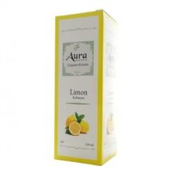 Aura - Aura Limon Kolonyası 250ml Cam Şişe