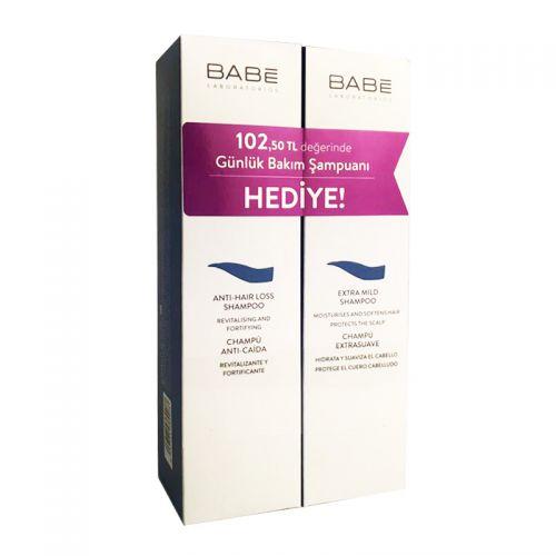 Babe Anti Hair Loss Shampoo 250 ml + Extra Mild Shampoo 250 ml