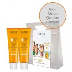 Babe Cilt Bakım Ürünleri - Babe Dry Touch Süper İkili Kofre