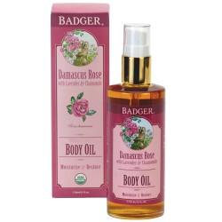 Badger Balm - Badger Damascus Rose Body Oil 118ml