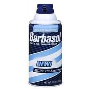 Barbasol Thick&Rich Shaving Cream Arctic Chill with Menthol 283gr