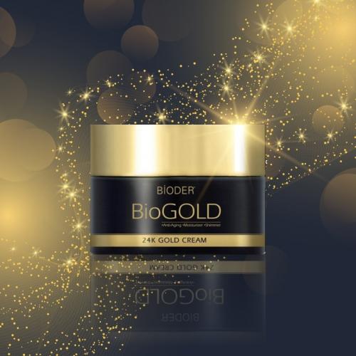 Bioder Biogold 24K Gold Cream 50ml