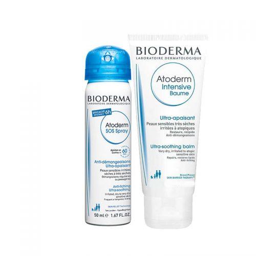 Bioderma Atoderm SOS Spray 50 ml   Atoderm Intensive Baume 45 ml HEDİYE