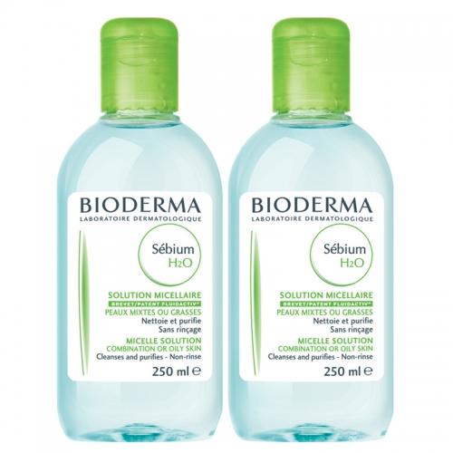 Bioderma Sebium H2O 250ml İkincisi Bedava