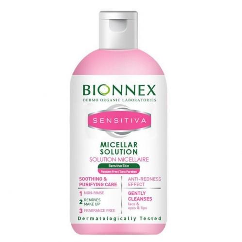 Bionnex Ürünleri - Bionnex Sensitiva Misel Solüsyon 250ml
