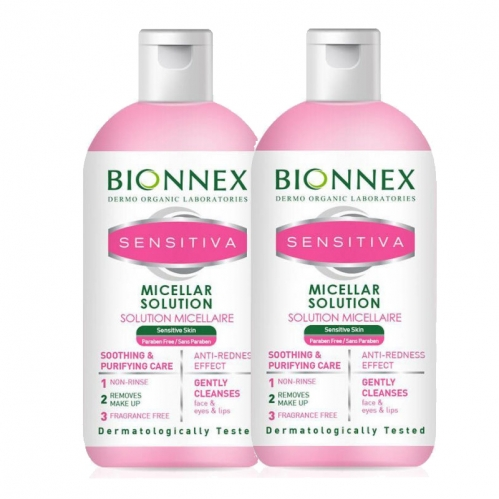 Bionnex Ürünleri - Bionnex Sensitiva Misel Solüsyon 500ml | Misel Solüsyon 500ml HEDİYE