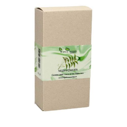 Biopark Cosmetics Öğütülmüş Saf Neem Ağacı Yaprağı Tozu 100 gr