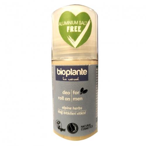 Bioplante - Bioplante Deo Roll On For Men 50ml - Dağ Bitkileri