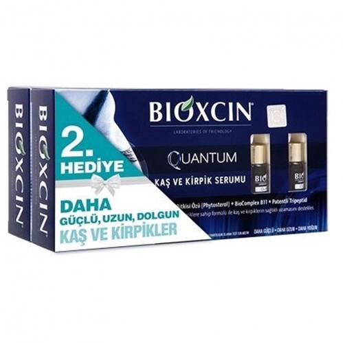 Bioxcin Saç Bakım - Bioxcin Quantum Kaş ve Kirpik Serumu 2x5 ml 2.si HEDİYE