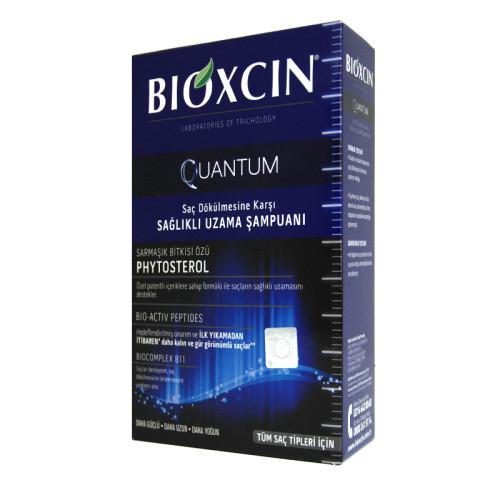 Bioxcin Saç Bakım - Bioxcin Quantum Saç Dökülmesine Karşı Sağlıklı Uzama Şampuanı 300ml
