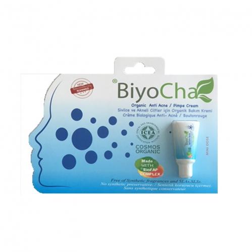 Biyocha - Biyocha Akneye Eğilimli Ciltler İçin Organik Bakım Kremi Mini Doz 5 ml