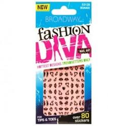 Broadway - Broadway Fashion Diva Nail Art 1