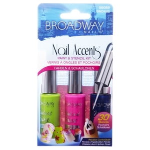 Broadway Nail Accents Paint Kit Masquerade