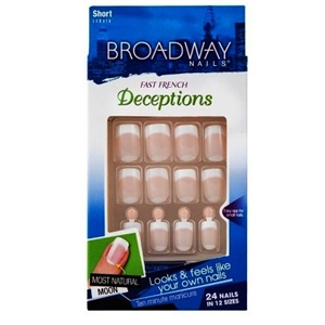Broadway Natural Deceptions French Nail Kit Clever
