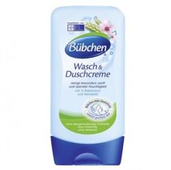Bübchen Bebek Ürünleri - Bübchen Nemlendirici Süt İçerikli Duş Kremi 300ml.