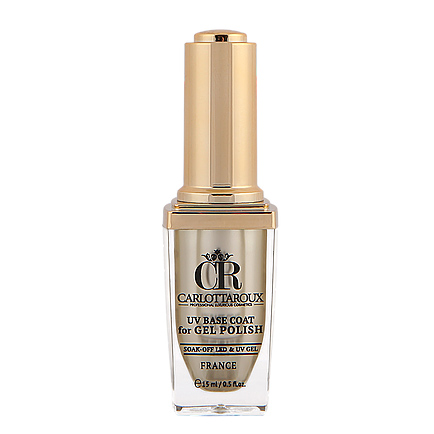 Carlottaroux - Carlottaroux UV Base Coat For Gel Polish 15ml Kalıcı Oje
