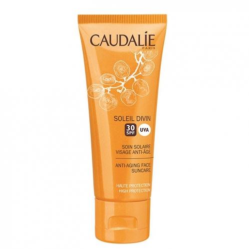 Caudalie Ürünleri - Caudalie Soleil Divin Spf30 Güneş Koruyucu Bakım Kremi 40ml