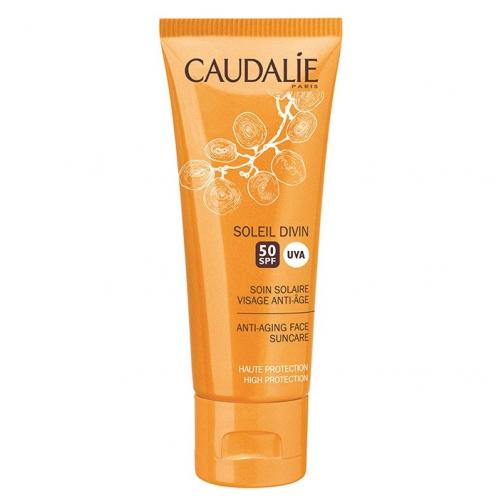 Caudalie Ürünleri - Caudalie Soleil Divin Spf50 Güneş Kremi 40ml YENİ