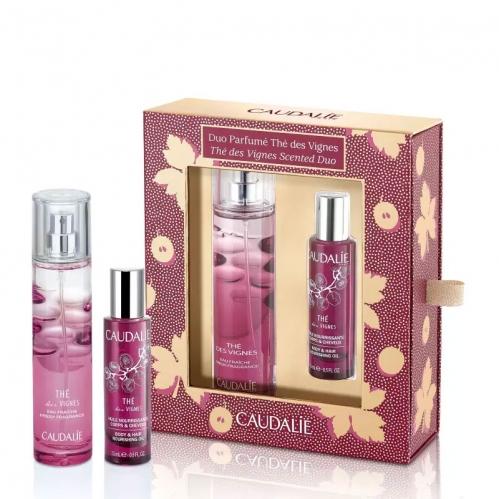 Caudalie Ürünleri - Caudalie The Des Vignes Parfum Duo SET