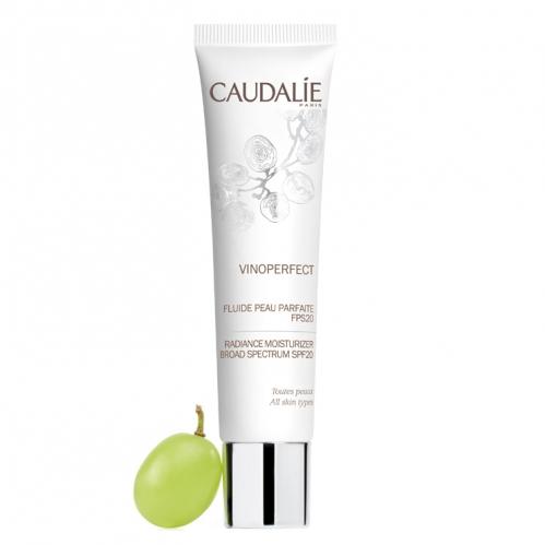 Caudalie Ürünleri - Caudalie Vinoperfect Day Perfecting Fluide 40ml Nemlendirici Gündüz Bakım Kremi spf20