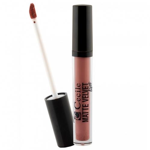 Cecile - Cecile Matte Velvet Lipgloss 3.7ml