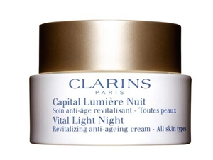 Clarins Vital Light Night Revitalizing Anti-Ageing Cream 50ml