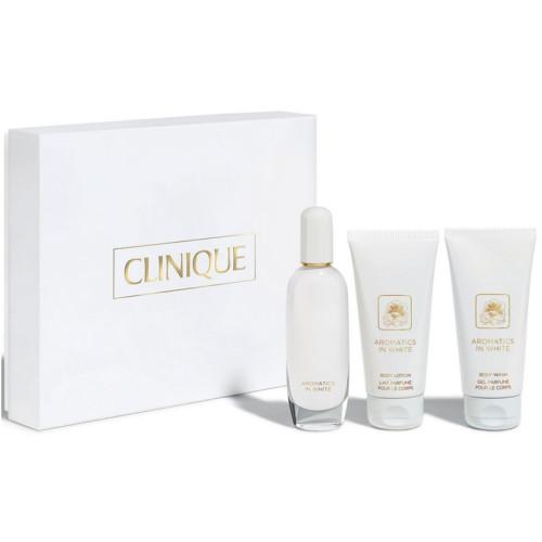 Clinique ürünleri - Clinique Aromatics in White Parfüm Seti