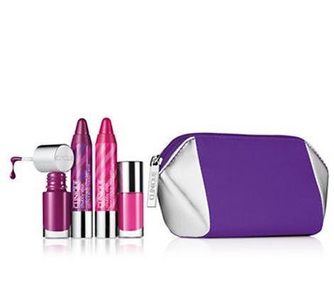 Clinique ürünleri - Clinique Party Lips And Nails SET