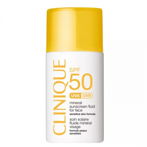 Clinique SPF 50 Mineral Sunscreen Fluid For Face 30 ml
