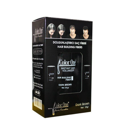 Color One - Color One Hair Building Fibers 25 gr Dark Brown