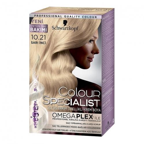 Colour Specialist - Colour Specialist C.Expert 10.21 Sarı İnci Saç Boyası 60 ml