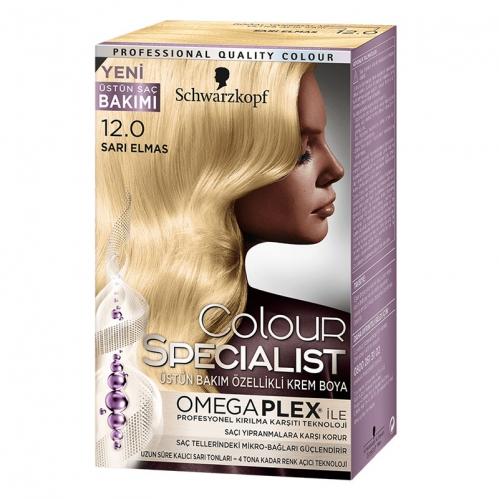 Colour Specialist - Colour Specialist C.Expert 12.0 Sarı Elmas Saç Boyası 60 ml