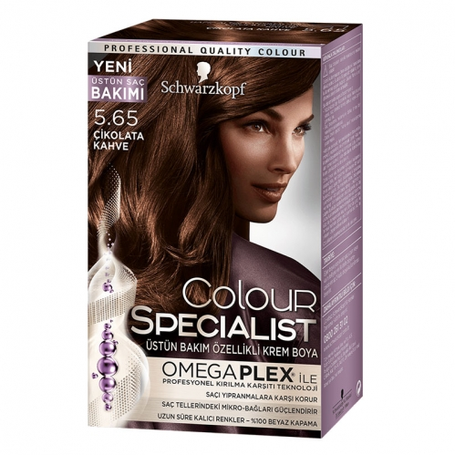 Colour Specialist - Colour Specialist C.Expert 5.65 Çikolata Kahve Saç Boyası 60 ml