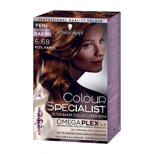 Colour Specialist - Colour Specialist C.Expert 6.68 Kızıl Kahve Saç Boyası 60 ml