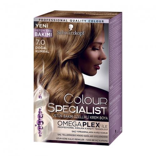 Colour Specialist - Colour Specialist C.Expert 7.0 Doğal Kumral Saç Boyası 60 ml
