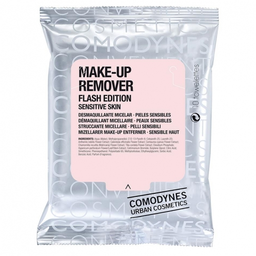 Comodynes - Comodynes Make-up Remover Micellar Solution Temizleme Mendili 20 Adet - Hassas Ciltler